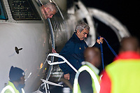 FOOTBALL - FIFA WORLD CUP 2010 - MISCS - GROUP A - TEAM FRANCE ARRIVES IN BLOEMFONTEIN - 21/06/2010 - RAYMOND DOMENECH<br /> PHOTO FRANCK FAUGERE / DPPI