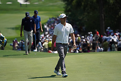 August 10, 2018 - St. Louis, Missouri, United States - Alex Noren approaches the 9th green during the second round of the 100th PGA Championship at Bellerive Country Club. (Credit Image: © Debby Wong via ZUMA Wire)