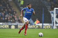 Portsmouth Defender, Nathan Thompson (20) during the EFL Sky Bet League 1 match between Portsmouth and Wycombe Wanderers at Fratton Park, Portsmouth, England on 22 September 2018.