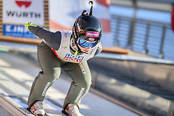 28.02.2021, Oberstdorf, GER, FIS Weltmeisterschaften Ski Nordisch, Oberstdorf 2021, Mixed Teambewerb, Skisprung HS106, im Bild Kamila Karpiel (POL) // Kamila Karpiel (POL) during the ski jumping HS106 mixed team competition of FIS Nordic Ski World Championships 2021 in Oberstdorf, Germany on 2021/02/28. EXPA Pictures © 2021, PhotoCredit: EXPA/ Tadeusz Mieczynski