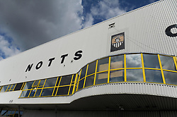 Notts County ground, Meadow Lane - Photo mandatory by-line: Dougie Allward/JMP - Mobile: 07966 386802 31/08/2014 - SPORT - FOOTBALL - Nottingham - Meadow Lane - Notts County v Bristol City - Sky Bet League One