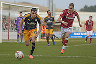 Cambridge United Midfielder Zeli Ismail  during the Sky Bet League 2 match between Northampton Town and Cambridge United at Sixfields Stadium, Northampton, England on 12 March 2016. Photo by Dennis Goodwin.