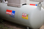 Calor gas propane cylinder for domestic fuel, UK