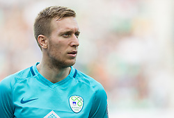 Robert Beric of Slovenia during football match between National teams of Slovenia and Malta in Round #6 of FIFA World Cup Russia 2018 qualifications in Group F, on June 10, 2017 in SRC Stozice, Ljubljana, Slovenia. Photo by Vid Ponikvar / Sportida