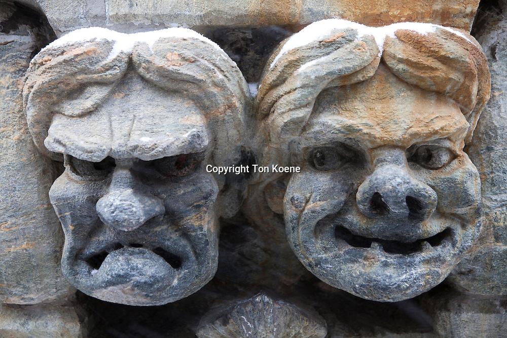 faces in helsinki downtown