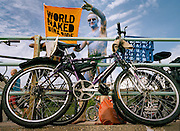 """Each of the 700 participants in this year's naked bike ride will have had a different motive for joining in. According to the organisers, it's """"a celebration of cycling and the human body, a protest against car culture and a fun day out""""."""