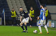 Millwall defender Scott Malone (14)  during the EFL Sky Bet Championship match between Huddersfield Town and Millwall at the John Smiths Stadium, Huddersfield, England on 20 January 2021.