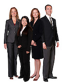 Group Portrait Composites on White