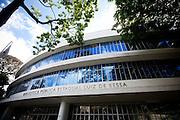 Belo Horizonte_MG, Brasil...Biblioteca Publica Estadual Luiz de Bessa em Belo Horizonte, Minas Gerais...Luiz de Bessa State Public Library in Belo Horizonte, Minas Gerais...Foto: NIDIN SANCHES / NITRO