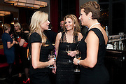 FRU THOLSTRUP; JULIE SULEYMAN; ANNETTE NYGREN, Fine Wine and Dine in aid of  Sick Children's Trust. Cafe Anglais. London. 1 March 2012