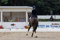 ROCKXSkodborg Merrald Nanna, DEN, Blue Hors Touch Of Olympic L<br /> World Championship Young Horses Verden 2021<br /> © Hippo Foto - Dirk Caremans<br />  29/08/2021