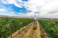 Greg Harrington, master sommeiler and owner of Gramercy Cellers in Walla Walla Washington