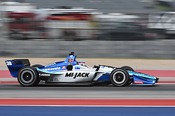 March 23, 2019 - Austin, TX, U.S. - AUSTIN, TX - MARCH 23: Takuma Sato (30) of Rahal Letterman Lanigan Racing driving a Honda heads down a short straight away during the IndyCar morning practice at Circuit of the Americas on March 23, 2019 in Austin, Texas. (Photo by Ken Murray/Icon Sportswire) (Credit Image: © Ken Murray/Icon SMI via ZUMA Press)