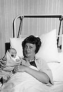 Beatric Behan and baby Daughter, Rotunda<br /> 29.11.1963