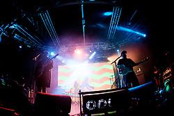 July 3, 2018 - Milan, Milan, Italy - Portugal. The Man performing live at Fabrique Milan Italy  (Credit Image: © Roberto Finizio/NurPhoto via ZUMA Press)
