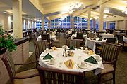 Dining room at Hillcrest retirement community in La Verne, CA