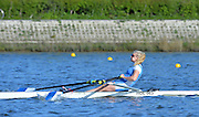 Reading. United Kingdom. GBR W1X, Jessica LEYDEN. Morning time Trial, 2014 Senior GB Rowing Trails, Redgrave and Pinsent Rowing Lake. Caversham.<br /> <br /> 09:05:06  Saturday  19/04/2014<br /> <br />  [Mandatory Credit: Peter Spurrier/Intersport<br /> Images]