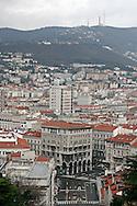 Trieste, Palazzi nel centro della città.