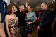 ANOUK LEPERE; JEFFERSON HACK; YASMIN LE BON; JUERGEN TELLER. . The Launch of the Lanvin store on Mount St. Presentation and cocktails.  London. 26 March 2009