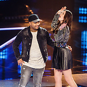 NLD/Hilversum/20160129 - Finale The Voice of Holland 2016, Winnares Maan