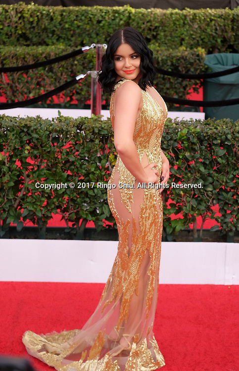 Actress Ariel Winter attends the 23rd Annual Screen Actors Guild Awards at The Shrine Auditorium on January 29, 2017 in Los Angeles, California.(Photo by Ringo Chiu/PHOTOFORMULA.com)<br /> <br /> Usage Notes: This content is intended for editorial use only. For other uses, additional clearances may be required.