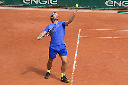 Carlos Moya during French Tennis Open at Roland-Garros arena on June 07, 2017 in Paris, France. Photo by Nasser Berzane/ABACAPRESS.COM