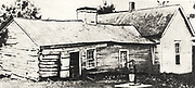 The homestead near Kearney, Missouri, where  Frank (1843-1915) and Jesse Woodson James (1847-1882) were born.  American outlaws who were members of the James-Younger gang.