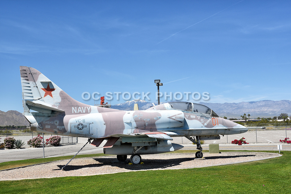 A-4 Skyhawk at the Palm Springs Air Museum