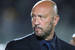 April 18, 2018 - Crotone, Calabria, Italy - Head coach of Crotone Walter Zenga during the serie A match between FC Crotone and Juventus at Stadio Comunale Ezio Scida on April 18, 2018 in Crotone, Italy. (Credit Image: © Gabriele Maricchiolo/NurPhoto via ZUMA Press)