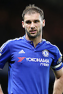 Branislav Ivanovic of Chelsea looking on. Barclays Premier league match, Chelsea v AFC Bournemouth at Stamford Bridge in London on Saturday 5th December 2015.<br /> pic by John Patrick Fletcher, Andrew Orchard sports photography.