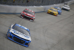 October 7, 2018 - Dover, Delaware, United States of America - Chris Buescher (37) battles for position during the Gander Outdoors 400 at Dover International Speedway in Dover, Delaware. (Credit Image: © Justin R. Noe Asp Inc/ASP via ZUMA Wire)
