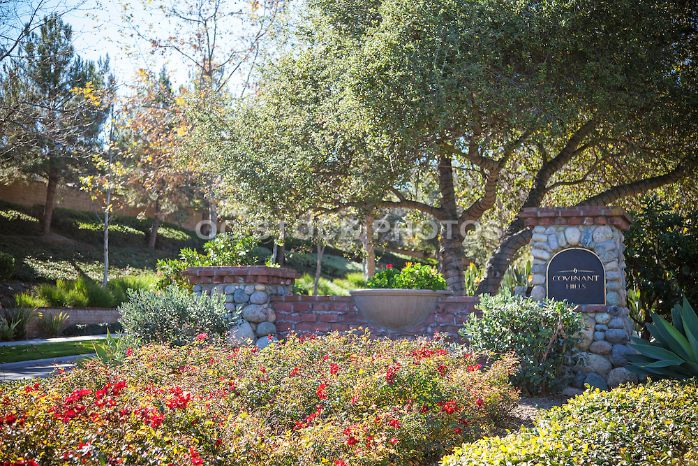 Covenant Hills Entrance In Ladera Ranch California