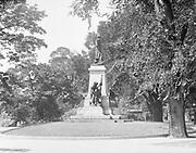 0613-B052.  Tadeusz Kosciszko statue, Lafayette Park, 16th & H st. NW. Washington DC, 1922