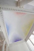 Openstelling Paleis Noordeinde en het Koninklijk Staldepartement<br /> <br /> Op de foto: plafond boven de Koninginnetrap