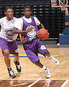 PG Myck Kabongo (Newark, NJ / St. Benedict?s) plays during the NBPA Top 100 Camp Friday June 18, 2008 held at the John Paul Jones Arena in Charlottesville, VA. Photo/Andrew Shurtleff