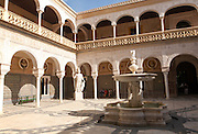 La Casa de Pilatos palace in city of Seville, Spain,