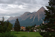 Austria, Tyrol, Reutte, Lermoos skiing resort