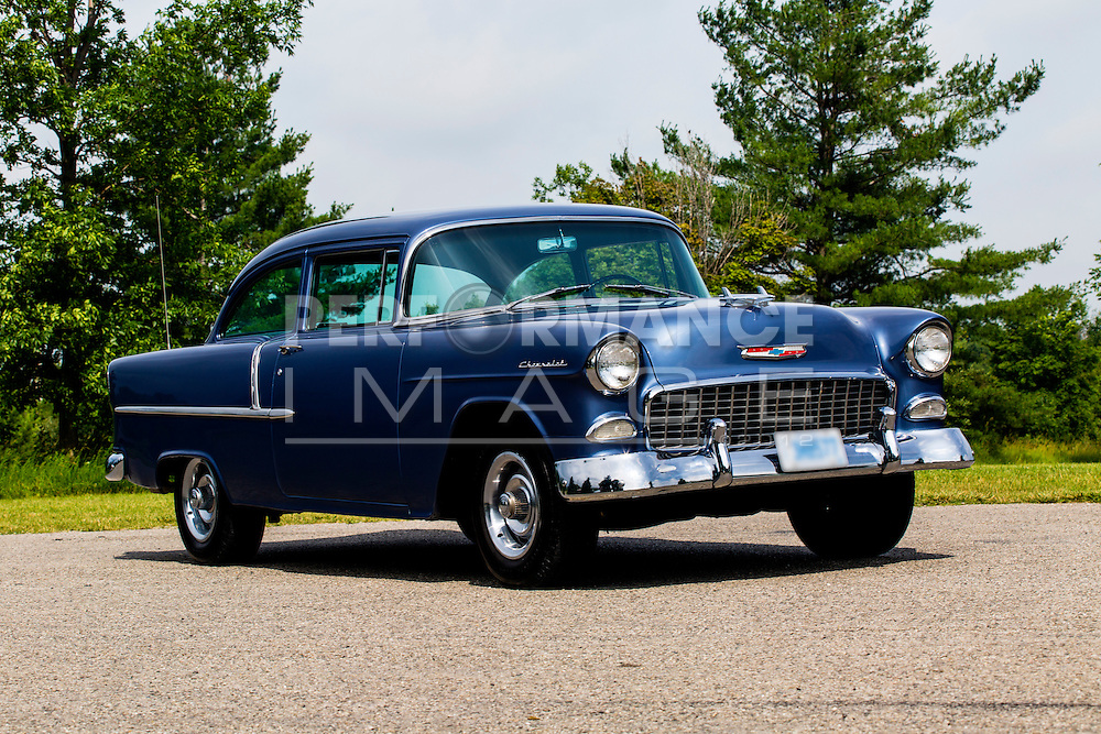 1955 Chevrolet 150 on pavement