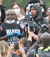 John Boyega makes an emotional speech at Black Lives Matter demonstration in London
