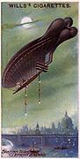 Aviation, 1910:  British Diigible (airship) 'Clement Bayard'