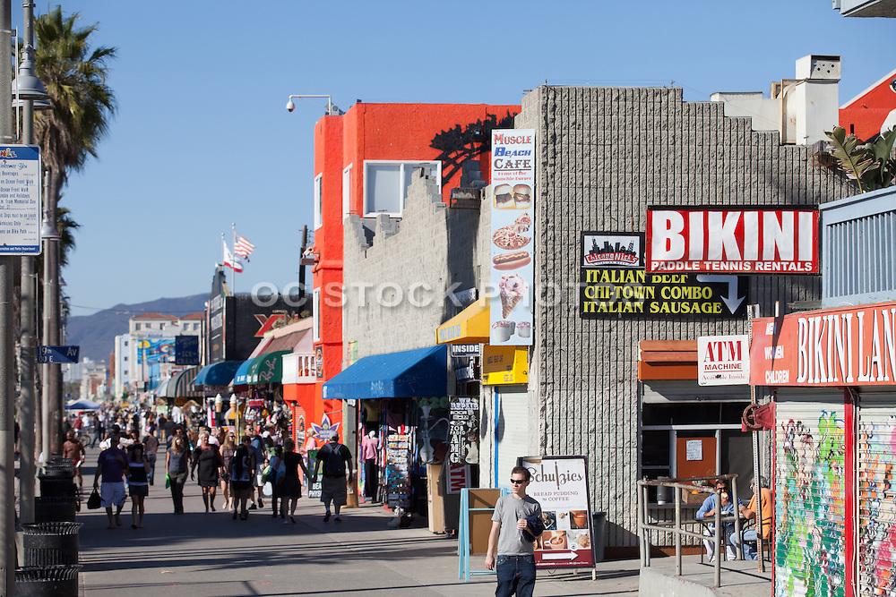 World Famous Downtown Venice Beach California