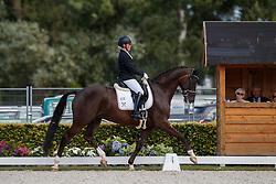 Pohlmeier Anne-Kathrin, GER, Lordswood Dancing Diamond<br /> Longines FEI/WBFSH World Breeding Dressage Championships for Young Horses - Ermelo 2017<br /> © Hippo Foto - Dirk Caremans<br /> 04/08/2017