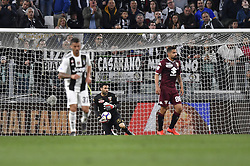 May 3, 2019 - Torino, Torino, Italia - Foto LaPresse - Fabio Ferrari.03 Maggio 2019 Torino, Italia .Sport.Calcio.ESCLUSIVA TORINO FC.Juventus Fc vs Torino Fc - Campionato di calcio Serie A TIM 2018/2019 - Allianz Stadium..Nella foto:Salvatore Sirigu (Torino Fc); ..Photo LaPresse - Fabio Ferrari.May 03, 2019 Turin, Italy.sport.soccer.EXCLUSIVE TORINO FC.Juventus Fc vs Torino Fc - Italian Football Championship League A TIM 2018/2019 - Allianz Stadium..In the pic:Salvatore Sirigu  (Credit Image: © Fabio Ferrari/Lapresse via ZUMA Press)