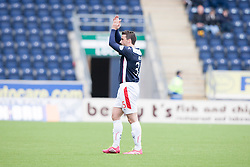 Falkirk's Mark Millar subbed.<br /> Falkirk 3 v 1 Alloa Athletic, Scottish Championship game played today at The Falkirk Stadium.<br /> © Michael Schofield.