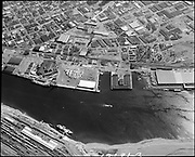 """""""Port of Portland. Terminal 1 and 2 aerials. August 2, 1971"""" (note demolished Union Pacific Railroad Dock demolished)"""