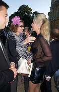 Isabelle van Randwych and Tamara Beckwith, Louis Vuitton classic and celebration of their 150 anniversary. Waddesdon Manor, June 4 2004. ONE TIME USE ONLY - DO NOT ARCHIVE  © Copyright Photograph by Dafydd Jones 66 Stockwell Park Rd. London SW9 0DA Tel 020 7733 0108 www.dafjones.com