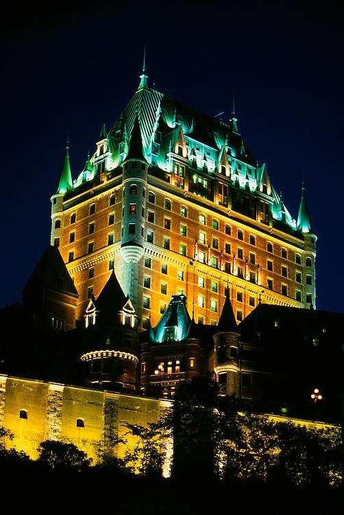 Hotel Fairmont Le Chateau Frontenac , Old Quebec City, Quebec, Canada