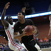Jason Massey, Brown, in action during the Marist vs Brown Men's College Basketball game in the Hall of Fame Shootout Tournament at Mohegan Sun Arena, Uncasville, Connecticut, USA. 22nd December 2015. Photo Tim Clayton