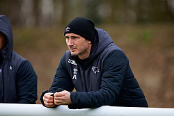 DERBY, ENGLAND - Friday, March 8, 2019: Derby County's manager Frank Lampard during the FA Premier League 2 Division 1 match between Derby County FC Under-23's and Liverpool FC Under-23's at the Derby County FC Training Centre. (Pic by David Rawcliffe/Propaganda)