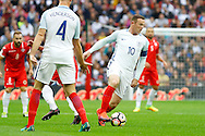 England Forward Wayne Rooney during the FIFA World Cup Qualifier match between England and Malta at Wembley Stadium, London, England on 8 October 2016. Photo by Andy Walter.